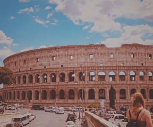 aesthetic, beautiful, and colosseum image