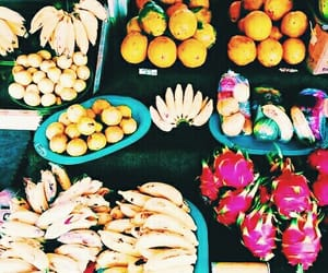 aesthetic, fruit, and tropical image