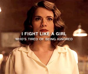gif, peggy, and fight like a girl image