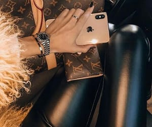 chic, fancy, and luis vuitton image
