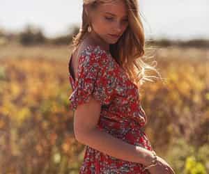 boho, field, and summer image