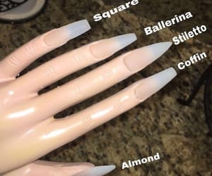 almond, ballerina, and claws image