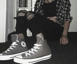 style, all star, and converse image