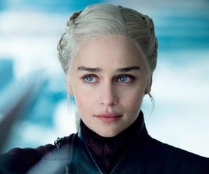 daenerys targaryen, game of thrones, and emilia clarke image