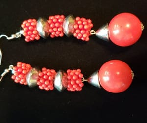 etsy, shoulder dusters, and long earrings image