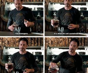Avengers, iron man, and gif image
