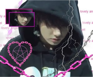 cyber, edit, and goth image