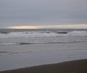 beach, calm, and carefree image
