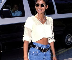 90s, fashion, and Halle Berry image