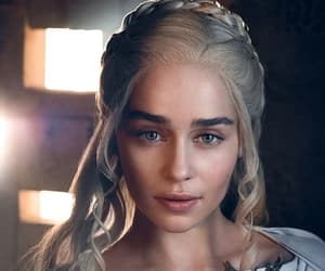 game of thrones, emilia clarke, and got image