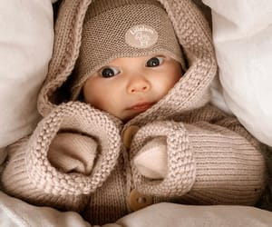 baby, beautiful, and brown image