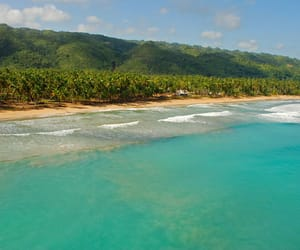 beach, beautiful, and Dominican Republic image