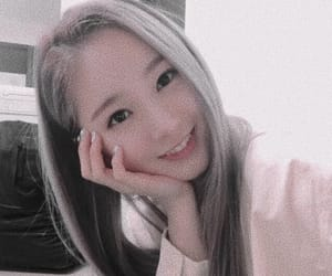 cute girl, soft, and sihyeon image