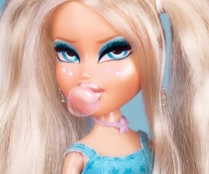 bratz, doll, and blue image