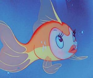 disney, fish, and pinocchio image