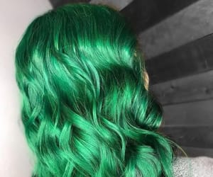 greenhair, darkgreenhair, and coloredhair image