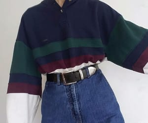 fashion, oversized sweater, and 70s 80s 90s image