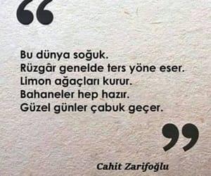 not, türkçe sözler, and şiir sokakta image