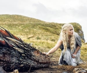game of thrones, got, and dragon image