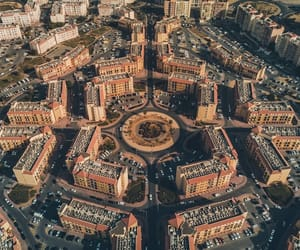 aerial photography, architecture, and culture image