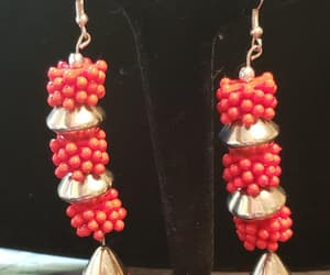 etsy, gifts for her, and runway earrings image