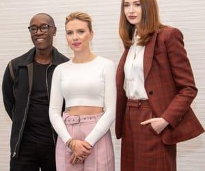 Don Cheadle, Scarlett Johansson, and karen gillan image