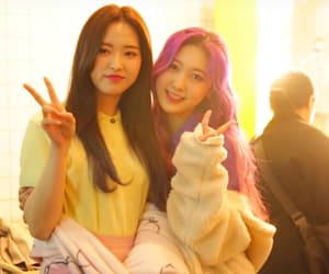 loona, choerry, and olivia hye image