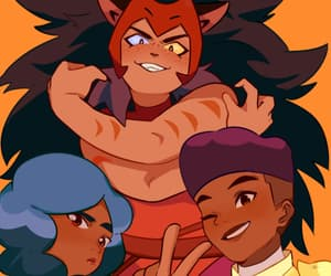 bow, she ra, and glimmer image