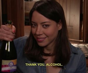 alcohol, funny, and parks and recreation image