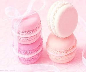 bow, macarons, and pastel image