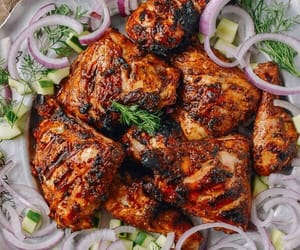 Chicken, food, and grilled image