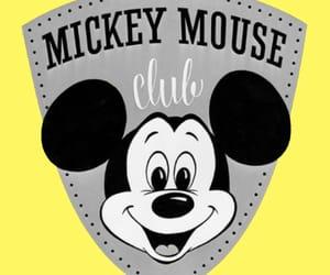 cartoon, disney, and mickey mouse image