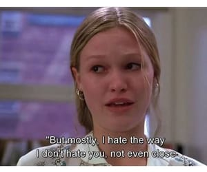 movie, 10 things i hate about you, and 90's image