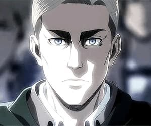 anime, attack on titan, and Erwin image