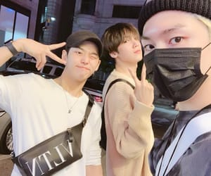 kino, yan an, and yeo one image