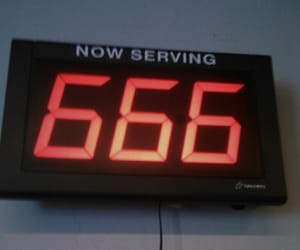666, grunge, and aesthetic image