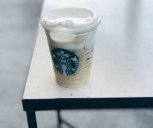 coffe, ice cream, and starbucks image