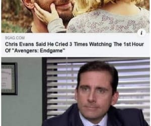 chris evans, cry, and funny image