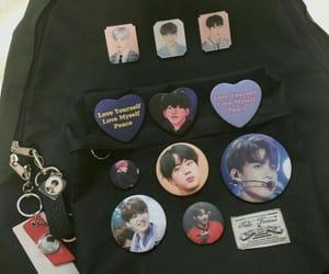 backpack, black, and jin image