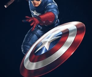 captain america and avenger image