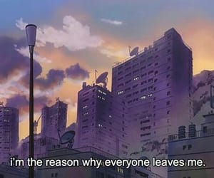 aesthetic, anime, and quotes image