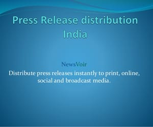 press release and news distribution image