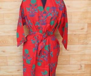 indian cotton robe image