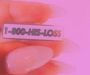 nails, pink, and quotes image
