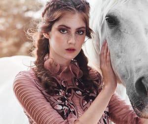braids, fashion, and dusty rose image
