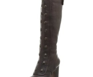 boots, brown, and frye image