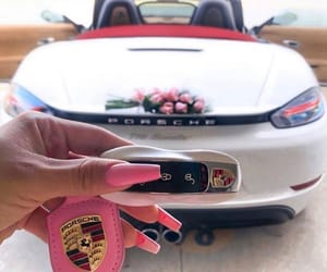 car, gift, and pink image