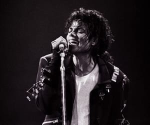 michael jackson, michael, and black and white image