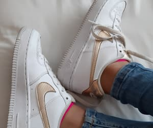 nike, force 1, and nike blancos image