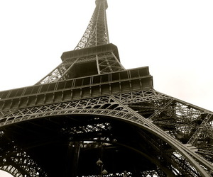 2012, black and white, and paris image